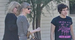 Harry Styles and Taylor Swift shopping in LA
