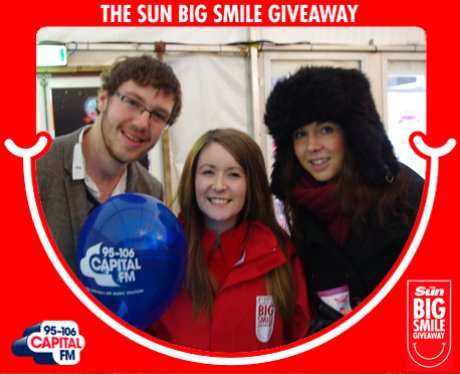 Big Smile Giveaway, Glasgow