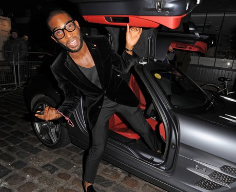 photo of Tinie Tempah Mercedes SLS - car