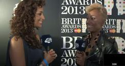 Emeli Sande Brit Awards nominations party