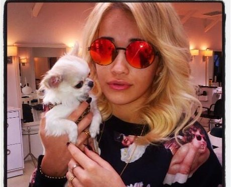 Photo of Rita Ora & her Dog Poppy