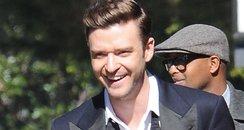 Justin Timberlake Filming New Video