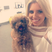 Image 7: Mollie King with her pet dog