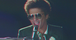 Bruno Mars Performs 'When I Was Your Man' Live On Let's Dance Live ...