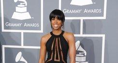 Kelly Rowland arrives at the Grammy Awards 2013