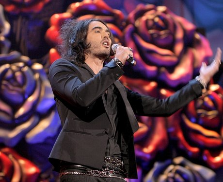 Russell Brand hosts 2007 Brit Awards
