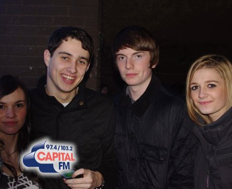 Lawson fans in Cardiff