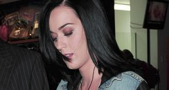 Katy Perry arrives at LAX Airport