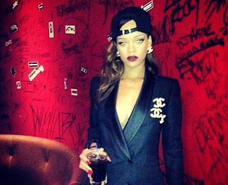 Rihanna enjoys a night off from the 'Diamonds' tour