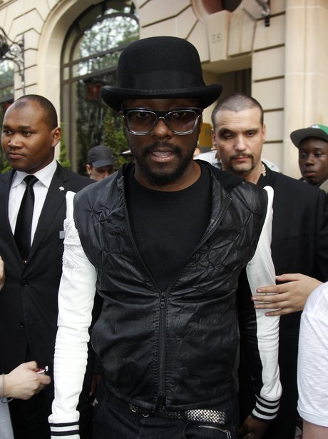 Will.i.am seen at Paris' Louvre Museum