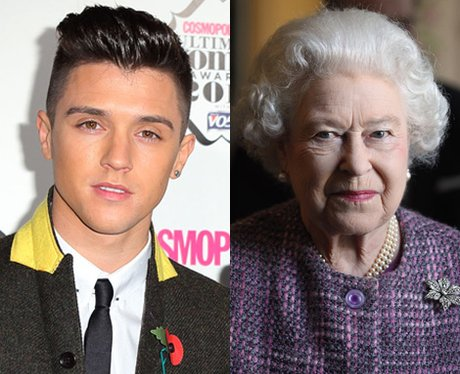 Union J's JJ and The Queen