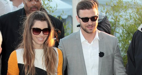 Jessica Biel and Justin Timberlake in Cannes