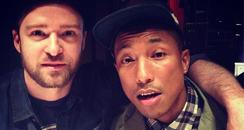 Justin Timberlake and Pharell
