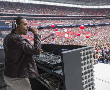 Marvin At The Summertime Ball 2013