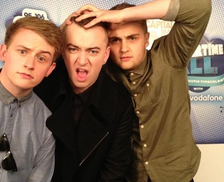 Sam Smith & Disclosure At The Summertime Ball 2013