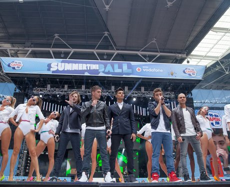 The Wanted stand reunited at the Summertime Ball 2013
