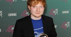 Ed Sheeran MuchMusic Video music awards 2013