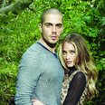 Max George promoting bufalo jeans