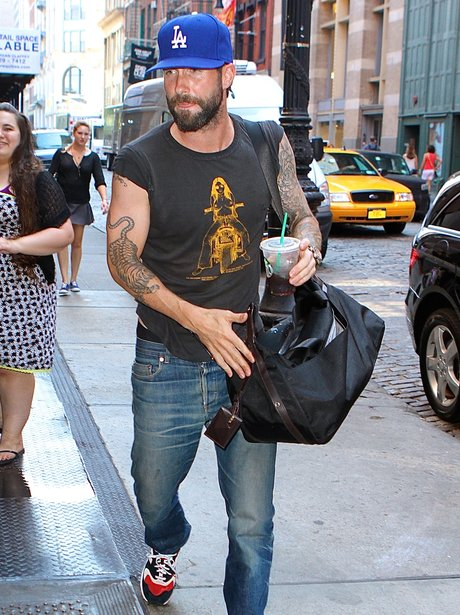 Adam Levine beard