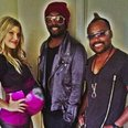 Fergie with Black Eyed Peas instagram
