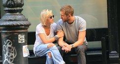 Rita Ora and Calvin Harris in New York