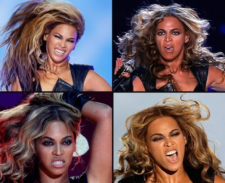 Beyonce Funny Faces