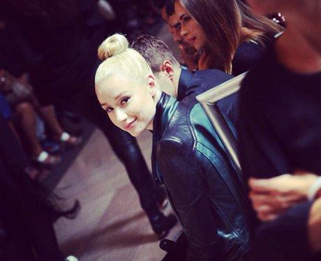 Iggy azalea struts her stuff at new york fashion week capital