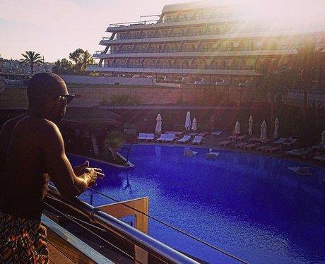Tinie Tempah in Ibiza