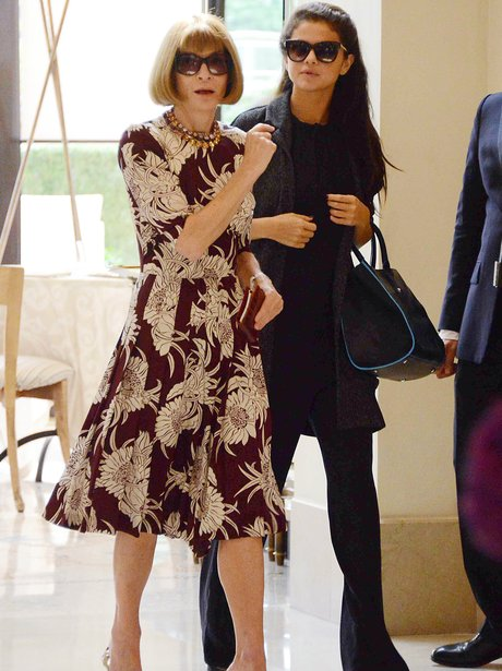 Selena Gomez and Anna Wintour