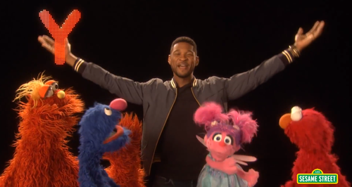 Usher On Sesame Street