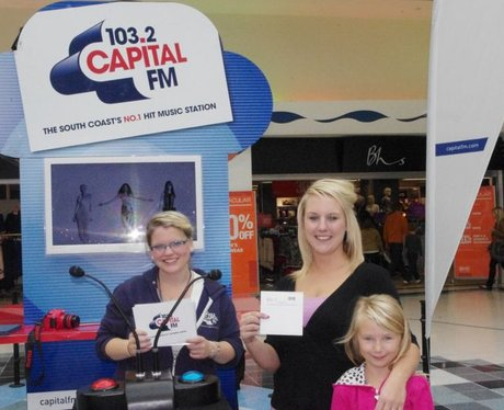 Pop Quiz Fun at Fareham Shopping Centre