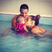 16. Rochelle, Marvin And Daughter Alaia-Mai Splash Around In The Pool
