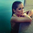 Cheryl Cole calendar shoot 2014