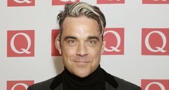 Robbie Williams Q Awards 2013