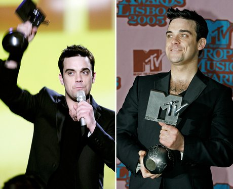 Robbie Williams MTV EMA