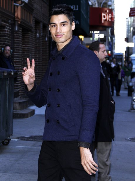 David Kaneswaran The Wanted Arrive For ...