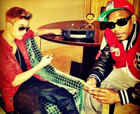 Justin Bieber And R. Kelly on Instagram