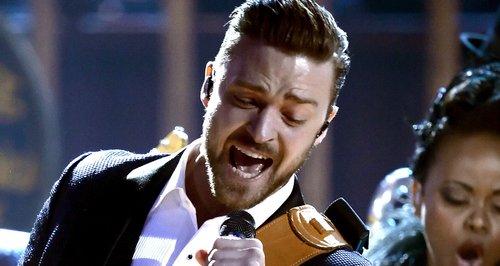 Justin Timberlake American Music Awards 2013