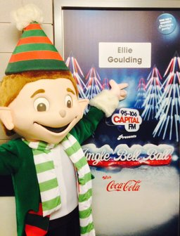Jingle Bell Ball 2013 Elf