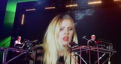 Sacha Keable and Disclosure Jingle Bell Ball 2013