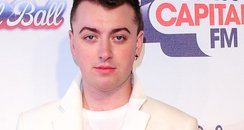 Sam Smith Red Carpet Jingle Bell Ball 2013