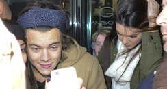 One Direction 39 S Harry Styles Leaves Hotel With Kendall Jenner In New York