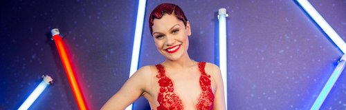 Jessie J Jingle Bell Ball 2013 backstage