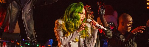 Lady Gaga Jingle Bell Boy 2013 live
