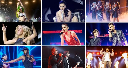 Jingle Bell Ball 2013 Videos