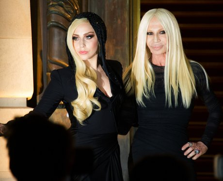 Lady Gaga and Donatella Verscae