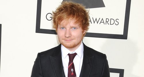 Ed Sheeran at the Grammy Awards 2014