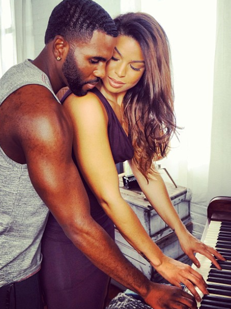 ok so jason derulo and jordin sparks playing piano