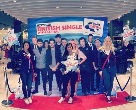 BRITs at New Look