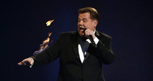 James Corden BRIT Awards 2014